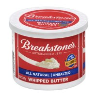 Breakstones Whipped Unsalted Butter 8oz Tub product image