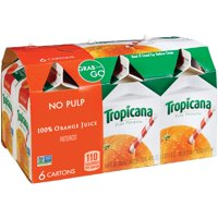 Tropicana Pure Premium Orange Juice No Pulp 6CT 8oz EA product image