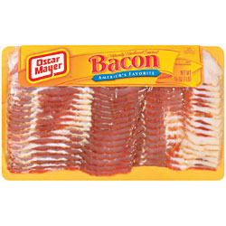 Oscar Mayer Naturally Hardwood Smoked Bacon 16oz PKG product image