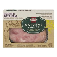 Hormel Natural Choice Deli Ham Smoked Sliced 8oz PKG product image