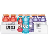 Gatorade G2 Low Sugar Electrolyte Beverage 20oz Bottles 24 Variety Pack product image