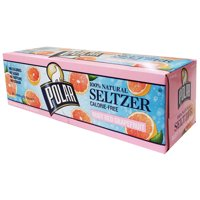 Polar Seltzer Water Ruby Red Grapefruit 12PK of 12oz Cans product image