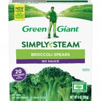 Green Giant Broccoli Spears No Sauce 9oz PKG product image
