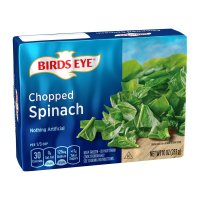 Birds Eye Chopped Spinach 10oz PKG product image