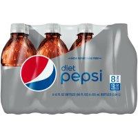 Pepsi Diet 8 Pack of 12oz BTLS product image