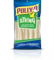 Kraft Polly-O String Cheese Mozzarella 12CT 12oz PKG product image
