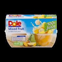 Dole Fruit Bowls Mixed Fruit 4oz. EA 4CT 16oz PKG product image