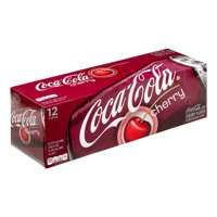 Coke Cherry 12 Pack of 12oz Cans product image