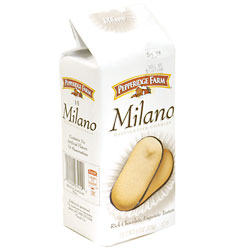 Pepperidge Farm Dark Chocolate Milano Cookies 6oz PKG product image