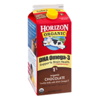 Horizon Organic DHA Omega-3 Milk Chocolate 1% Low Fat 64oz CTN product image