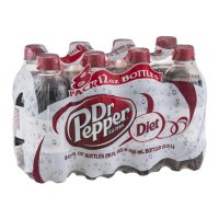 Dr Pepper Diet 8 Pack of 12oz Bottles product image