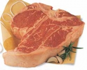 Beef Loin Porterhouse Steak Bone-In USDA Choice Approx 1LB product image
