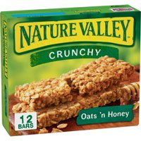 Nature Valley Crunchy Granola Bars Oats N Honey 12CT 8.9oz Box product image