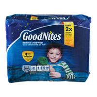 Goodnites Boys Underpants Small Medium 38-65LB Mega Pack 32CT product image