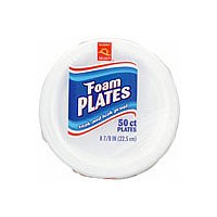 Store Brand 8.75 Inch Foam Plates 50CT product image