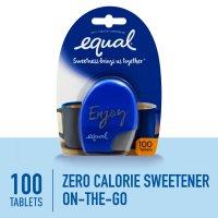 Equal Sweetener Tablets 100CT PKG product image