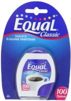 Equal Sweetener Tablets 100CT PKG product image