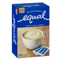 Equal Sweetener Packets 230CT PKG product image