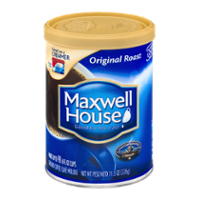 Maxwell House Ground Coffee Original Roast 11.5oz Can product image