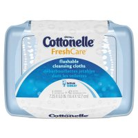 Kleenex Cottonelle Fresh Flushable Wipes 42CT product image