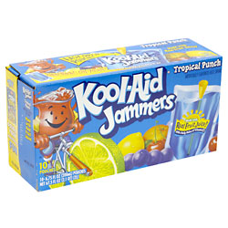 Kool-Aid Jammers Tropical Fruit Punch 10CT of 6oz EA product image