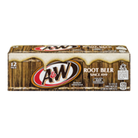 A&W Root Beer 12PK of 12oz Cans product image