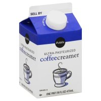 Store Brand Ultra Pasteurized Coffee Creamer 16oz Pint Carton product image