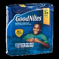 Goodnites Boys Underpants Large 60-125LB Mega Pack 24CT product image