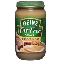 Heinz Gravy Roasted Turkey Fat Free 12oz Jar product image
