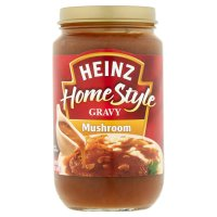 Heinz Home Style Gravy Rich Mushroom 12oz Jar product image