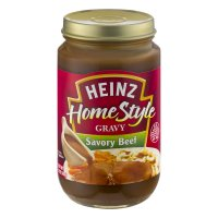 Heinz Home Style Gravy Savory Beef 12oz Jar product image