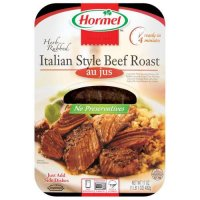 Hormel Herb Rubbed Italian Style Beef Roast Au Jus 15oz PKG product image