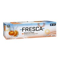 Fresca Peach Citrus Soda 12 Pack of 12oz Cans product image