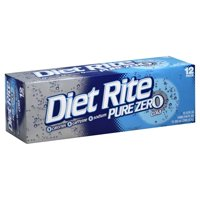 Diet Rite Cola 12PK of 12oz Cans product image