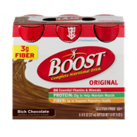 Boost Nutritional Drink Original Rich Chocolate 8oz EA 6PK product image