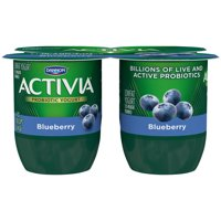 Dannon Activia Yogurt Blueberry 4oz. EA 4PK product image