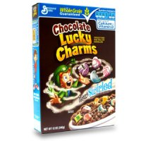 General Mills Lucky Charms Cereal Chocolate 12oz Box product image