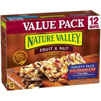 Nature Valley Fruit & Nut Chewy Trail Mix Variety Pack 12CT 14.8oz Box product image