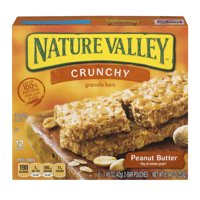 Nature Valley Crunchy Granola Bars Peanut Butter 12CT product image