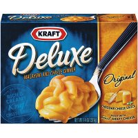 Kraft Deluxe Macaroni & Cheese Dinner Original 14oz PKG product image