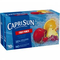 Capri Sun Beverage Fruit Punch 10CT of 6oz EA product image