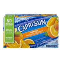 Capri Sun Beverage Orange 10CT of 6.75oz EA product image