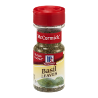 McCormick Basil Leaves .62oz. BTL product image