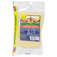 Land O Lakes Sliced American White Cheese Deli Thin 10CT 8oz PKG product image