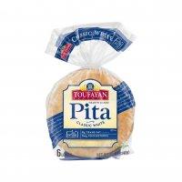 Toufayan White Pita Bread 6CT PKG product image
