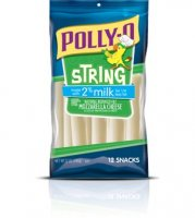 Kraft Polly-O String Cheese 2% Milk Reduced Fat 12CT 10oz PKG product image