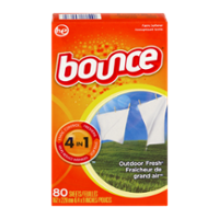Bounce Dryer Sheets Outdoor Fresh Scent 80CT product image