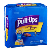 Huggies Pull-Ups Training Pants Learning Designs 2T-3T Boys Jumbo Pack (18-34LB) 25CT product image