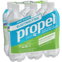 Propel Zero Vitamin Enhanced Water Strawberry Kiwi 16.9oz Bottles 6PK product image