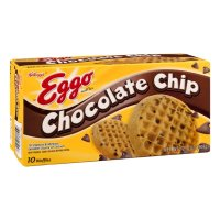 Eggo Waffles Chocolate Chip 10CT 12.3oz Box product image